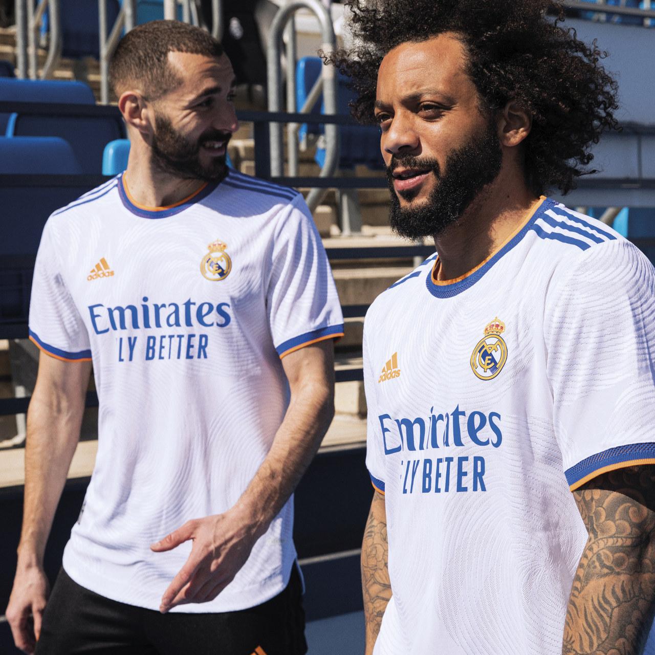 Camisas do Real Madrid 2021-2022 Adidas