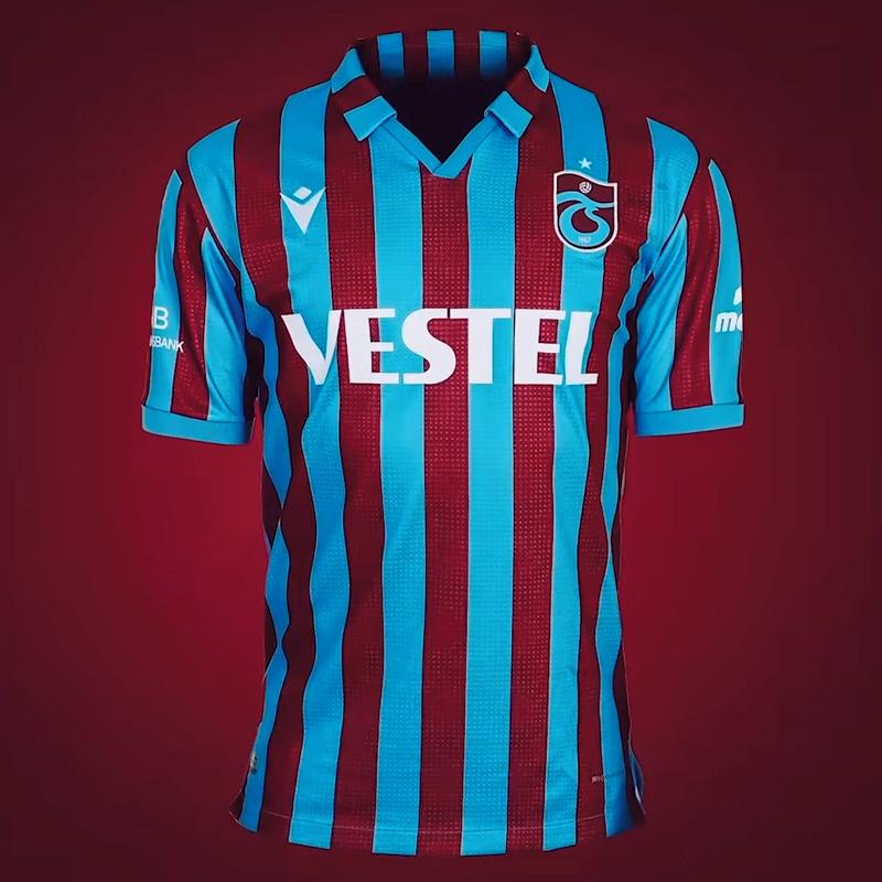 Camisas do Trabzonspor 2021-2022 Macron