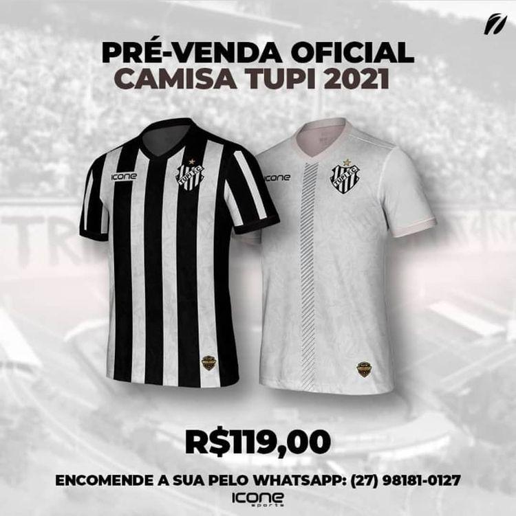 Camisas do Tupi FC 2021-2022 Ícone Sports