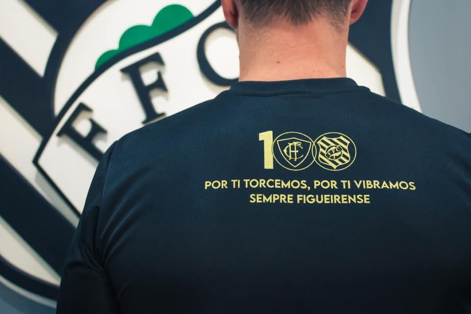 Camiseta do centenário do Figueirense 2021