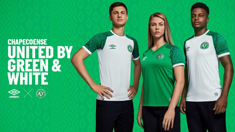 Camisas da Chapecoense 2021-2022 Umbro
