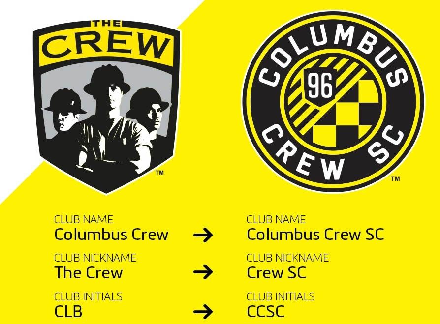 Columbus Crew pode mudar de nome e escudo