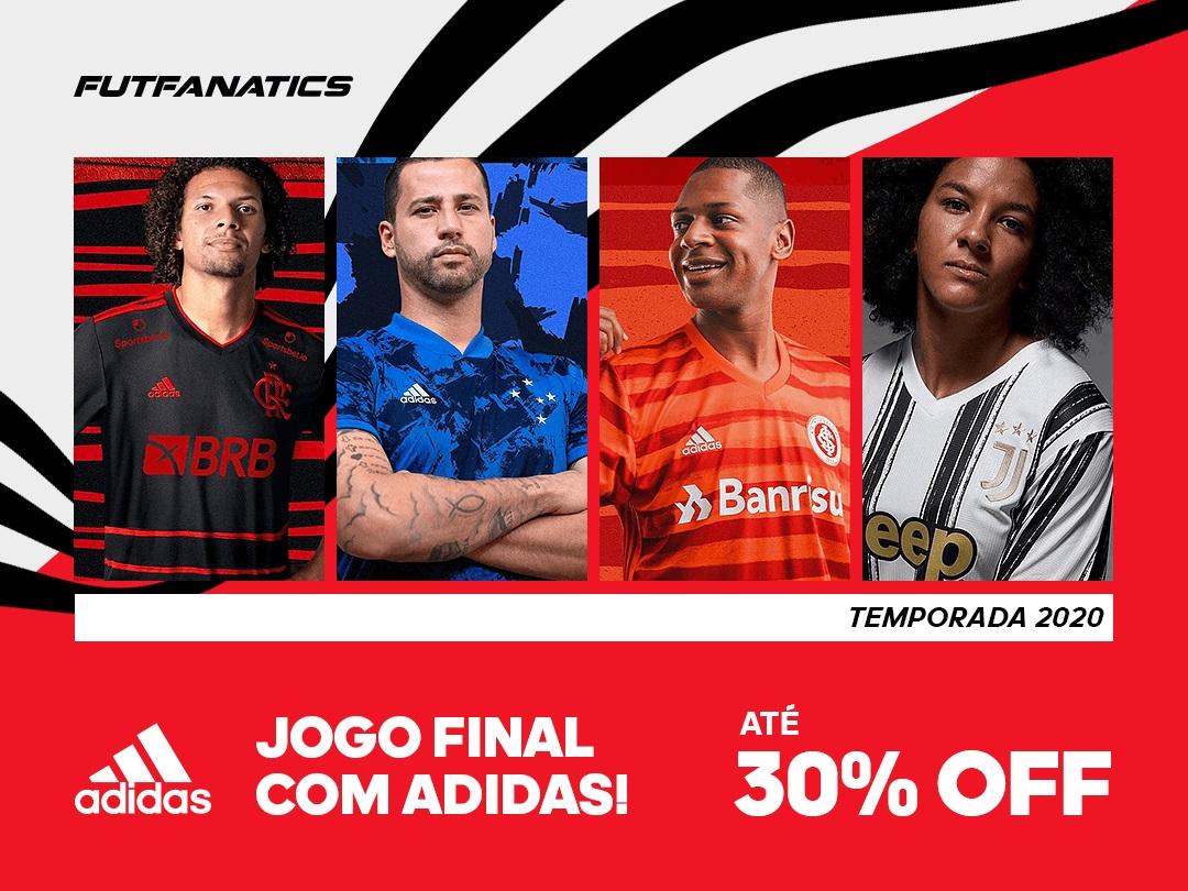 Jogo Final: Produtos Adidas com 30% OFF na FutFanatics
