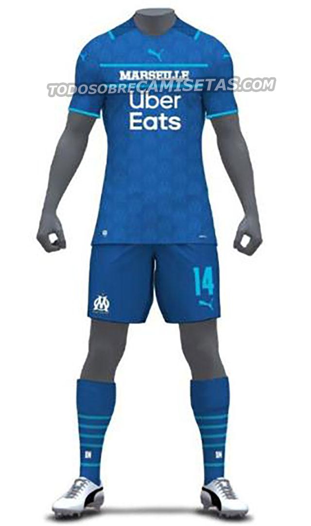 OM 2021-2022 PUMA Camisa 3