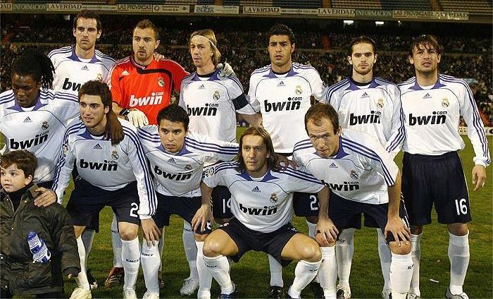 Real Madrid x Alicante 2008