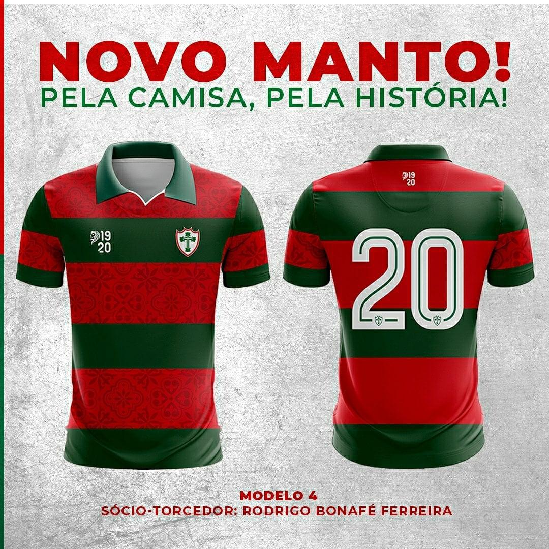 Terceira camisa da Portuguesa 2021 1920