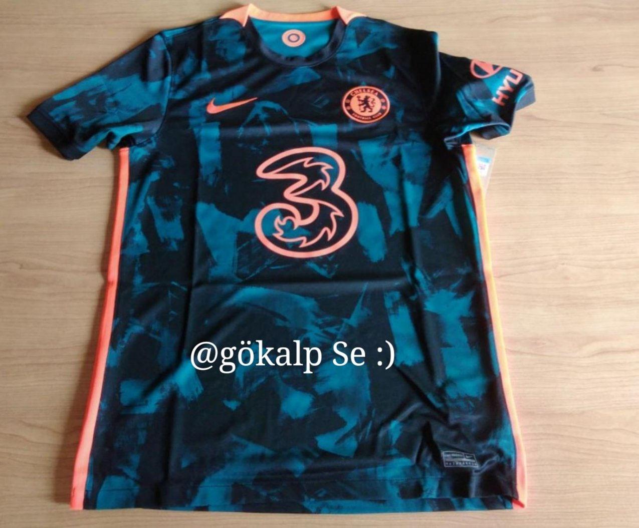 Terceira camisa do Chelsea 2021-2022 Nike