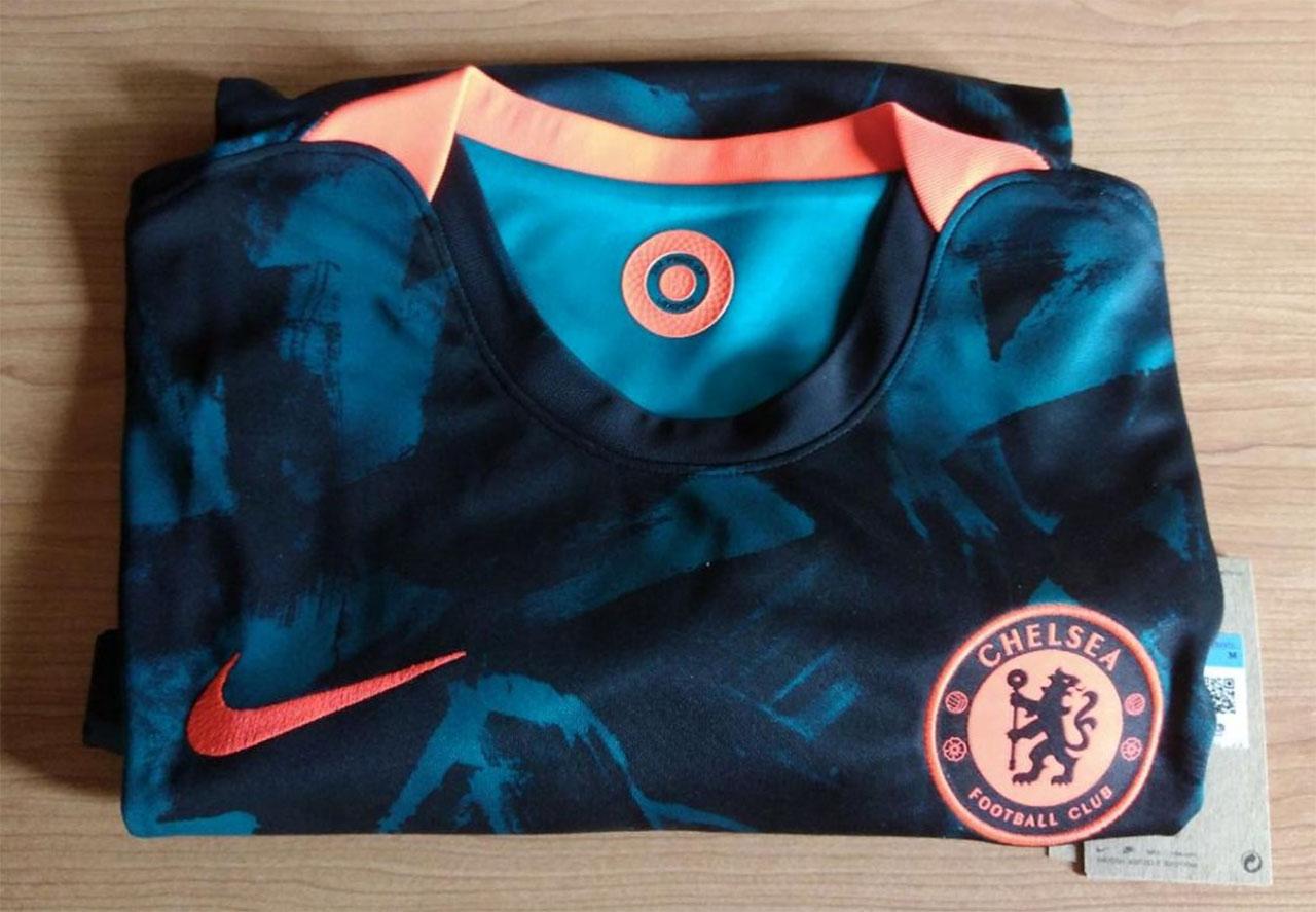 Terceira camisa do Chelsea 2021-2022 Nike a