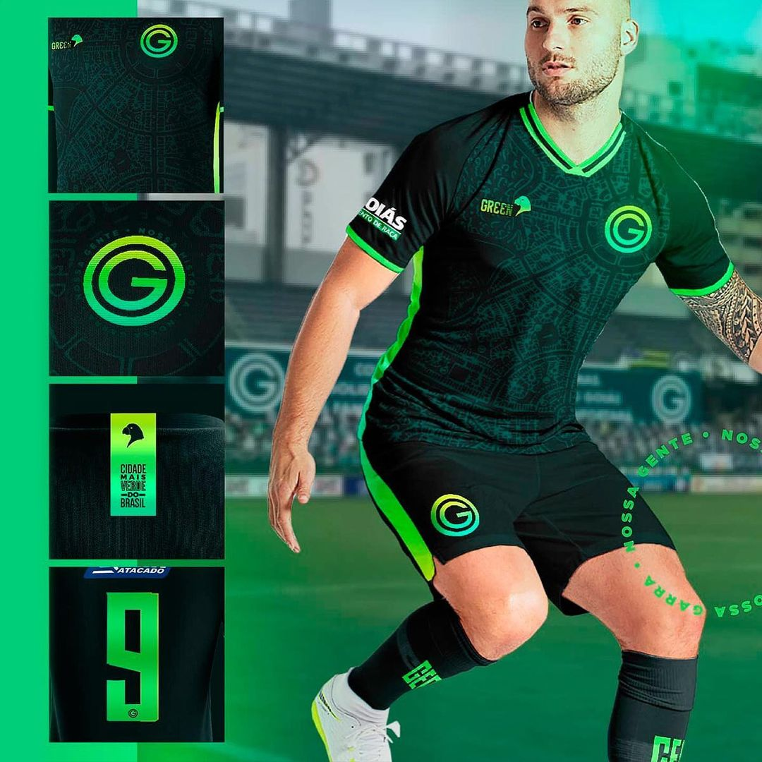 Terceira camisa do Goiás EC 2021 GREEN