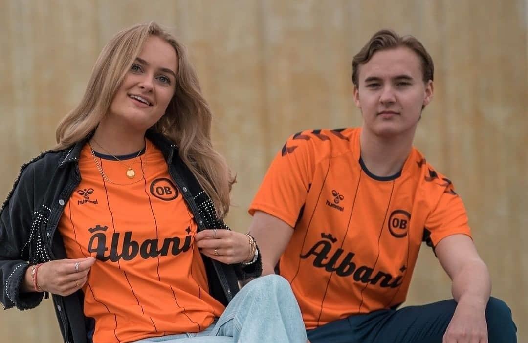 Terceira camisa do Odense BK 2021 Hummel