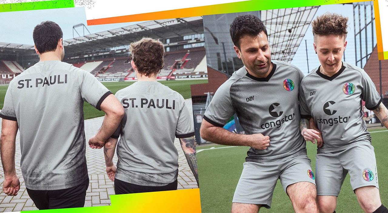 Terceira camisa do St Pauli 2021-2022 DIIY