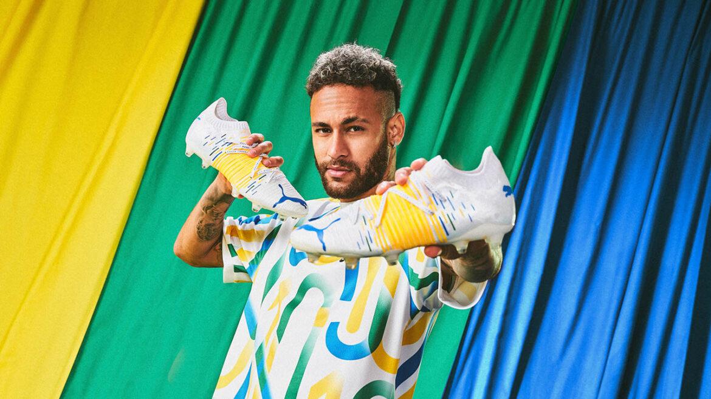 PUMA lança FUTURE Z 1.1 Brazil, nova chuteira de Neymar Jr para Copa América