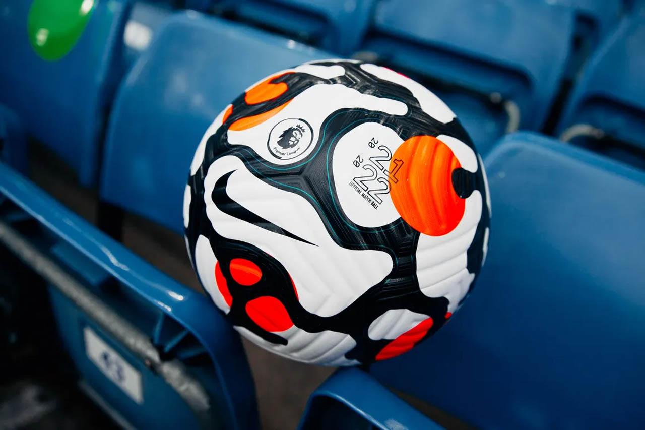 Bola da Premier League 2021-2022 Nike Flight