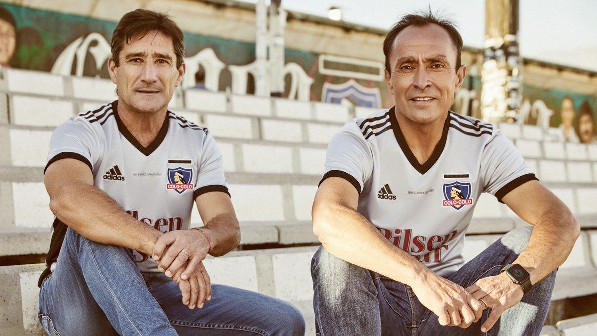Camisa do Colo-Colo 30 anos da Libertadores 1991 Adidas