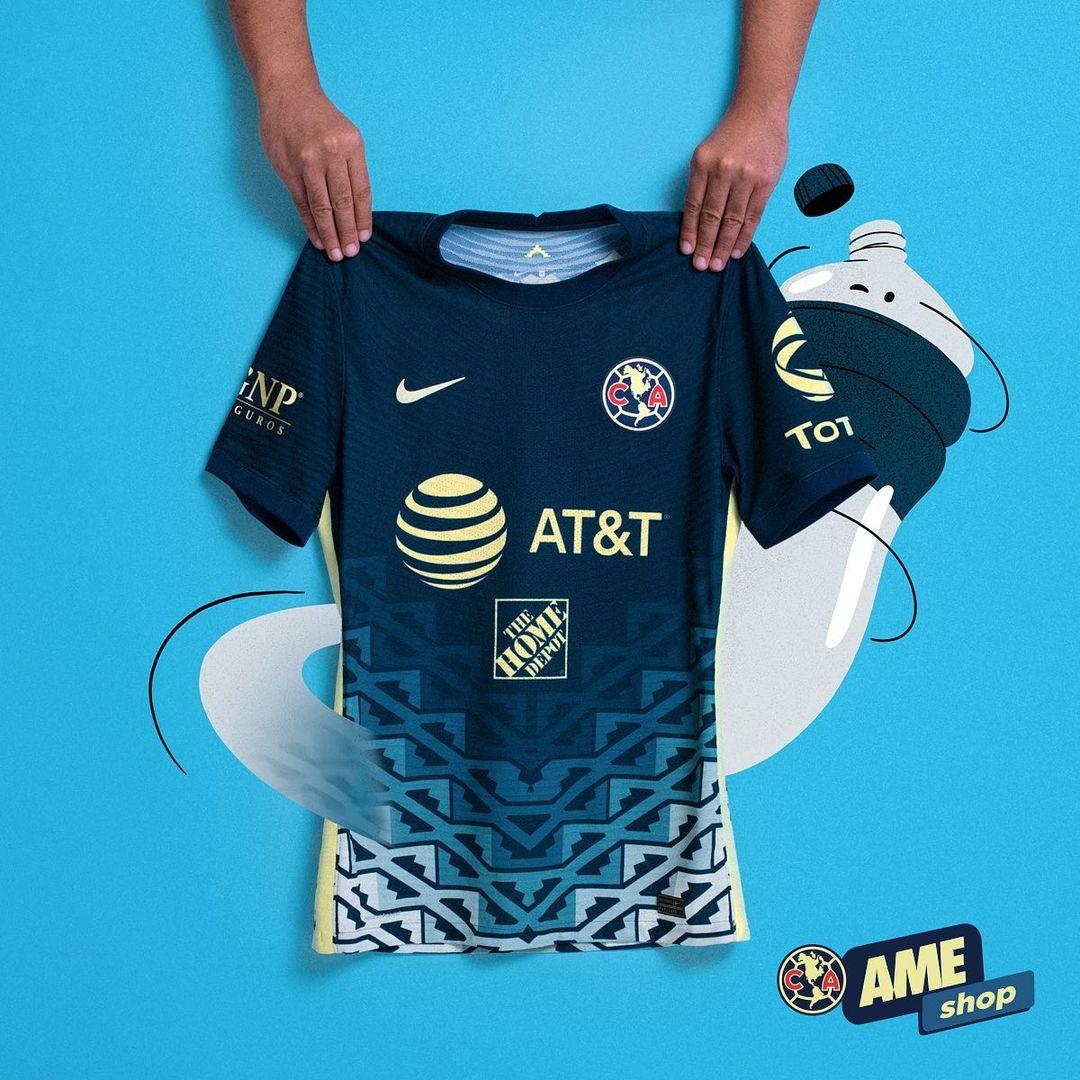 Camisa reserva do Club América 2021-2022 Nike