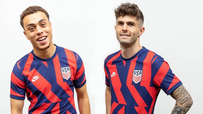 Camisa reserva dos EUA 2021-2022 Nike a