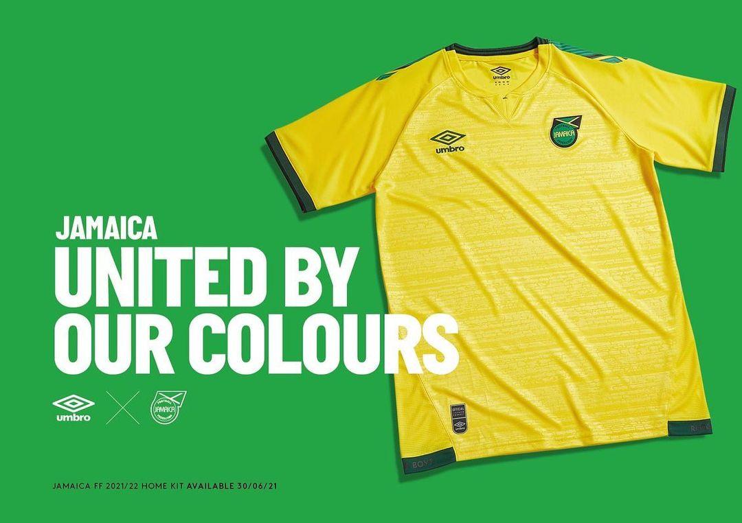 Camisas da Jamaica 2021-2022 Umbro