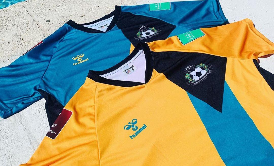 Camisas de Bahamas 2021-2022 Hummel a