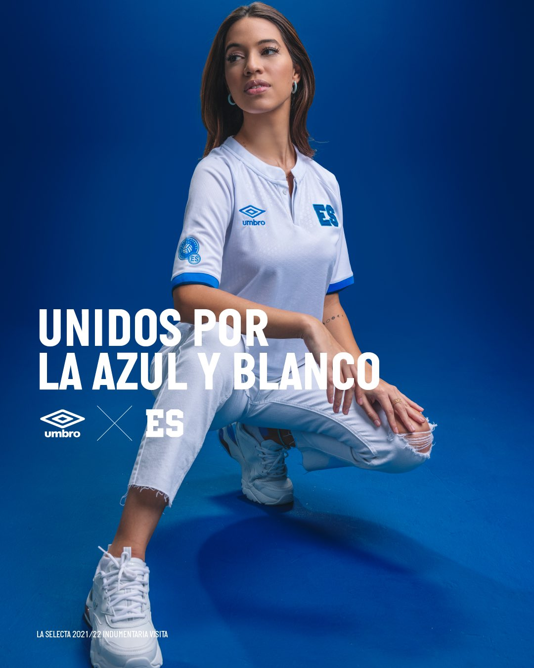 Camisas de El Salvador 2021-2022 Umbro Reserva