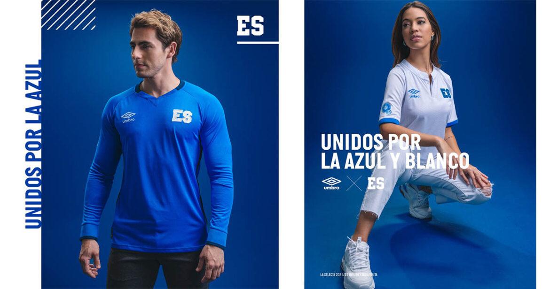 Camisas de El Salvador 2021-2022 Umbro a