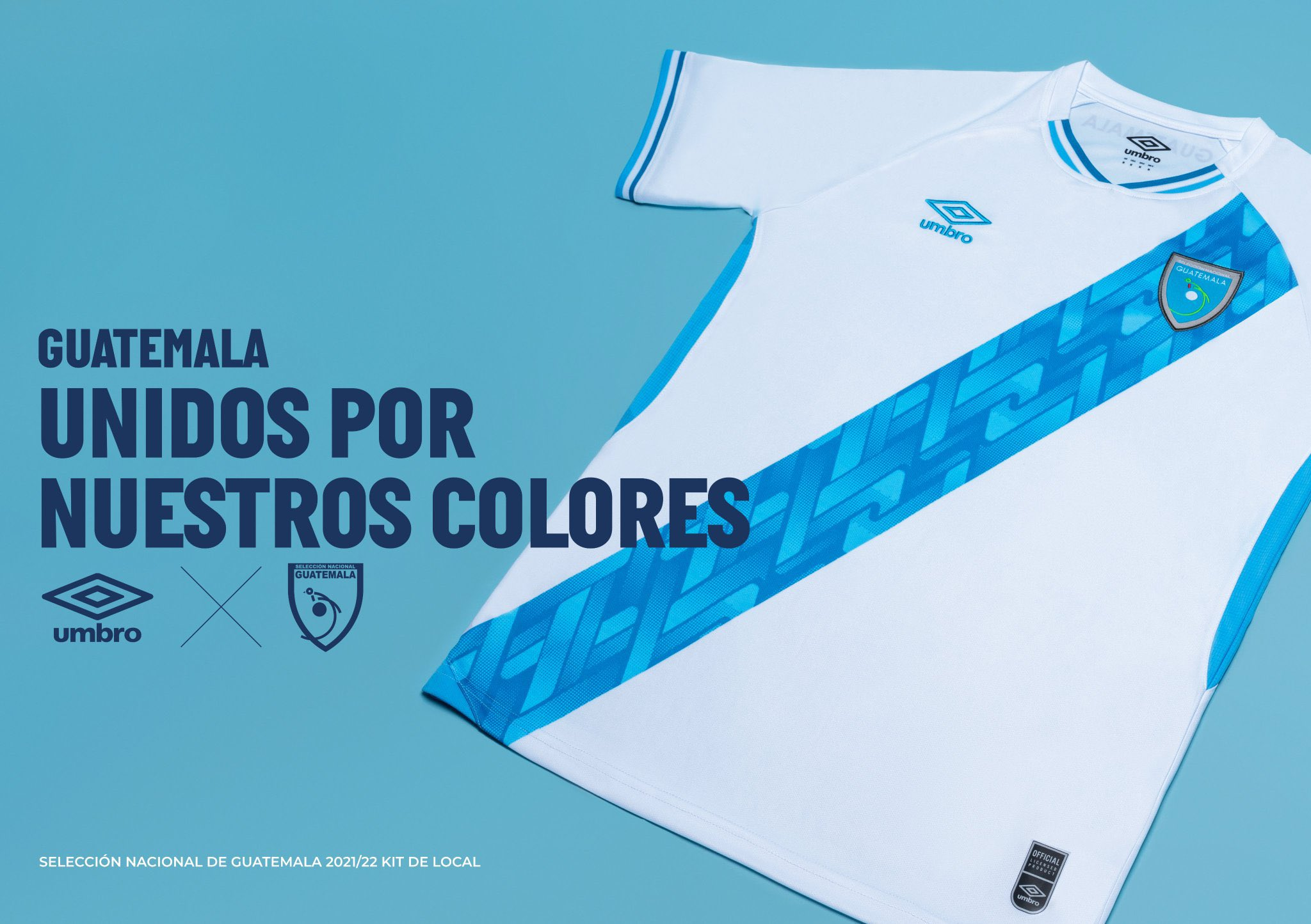 Camisas de Guatemala 2021-2022 Umbro 1