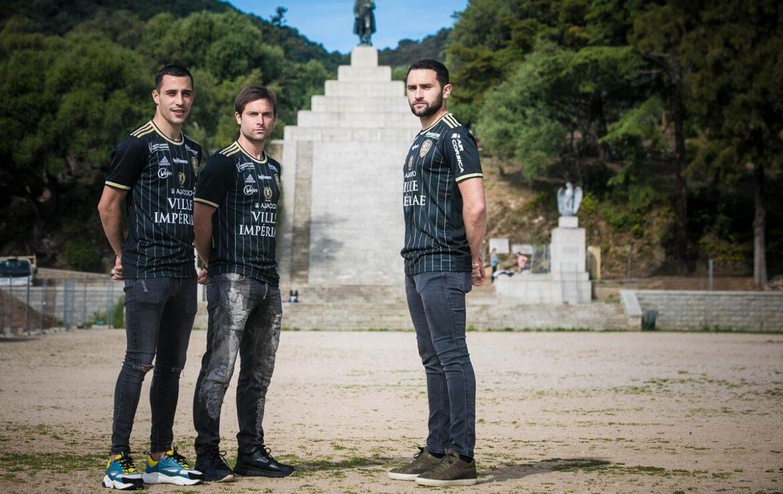 Camisas do AC Ajaccio 2021-2022 Adidas