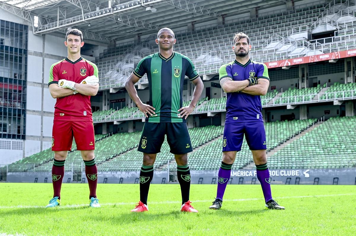 Camisas do América-MG 2021-2022 Volt Sport