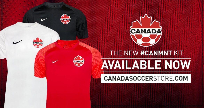 Camisas do Canadá 2021-2022 Nike