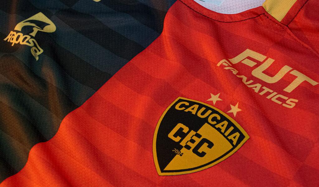 Camisas do Caucaia EC 2021 Raposa a