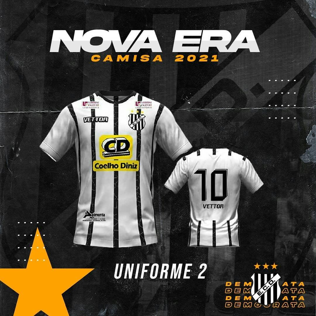 Camisas do Democrata GV 2021 Vettor Sports