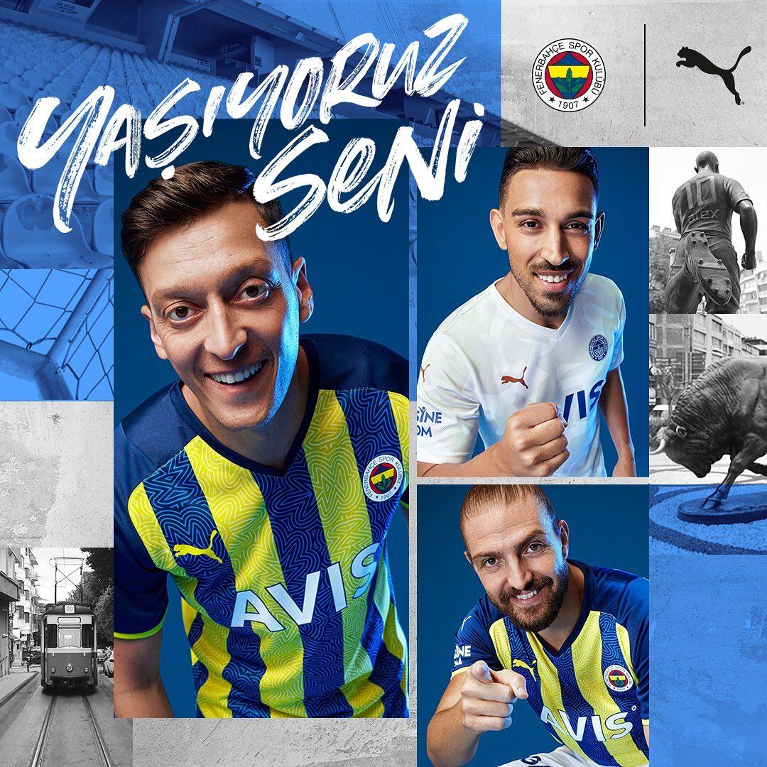 Camisas do Fenerbahce 2021-2022 PUMA