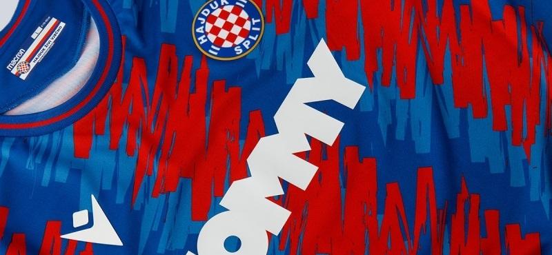 Camisas do Hajduk Split 2021-2022 Macron