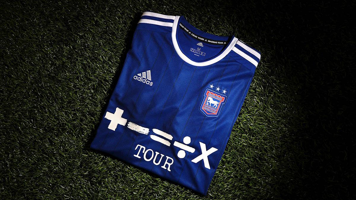 Camisas do Ipswich Town 2021-2022 Adidas