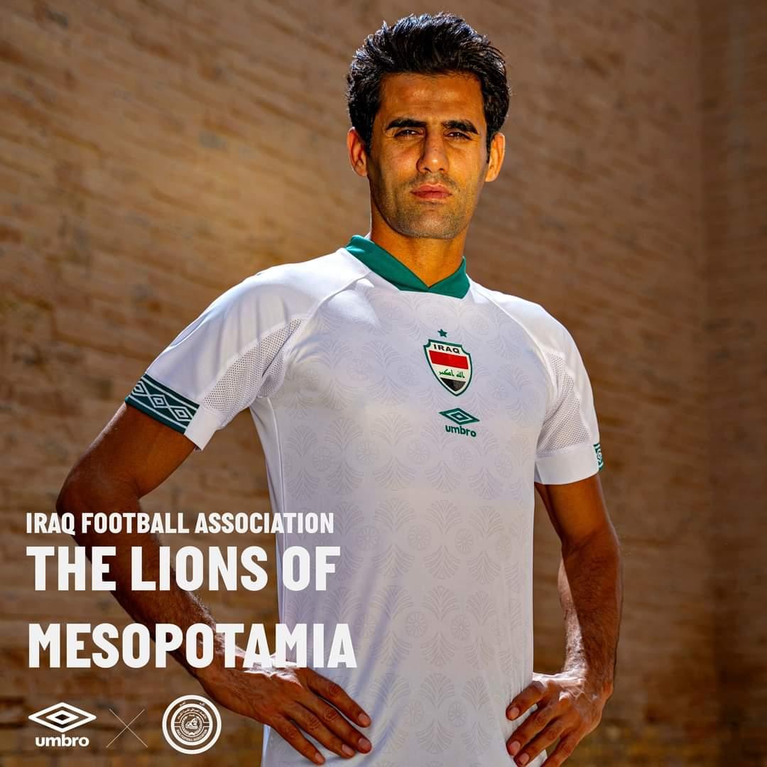 Camisas do Iraque 2021-2022 Umbro