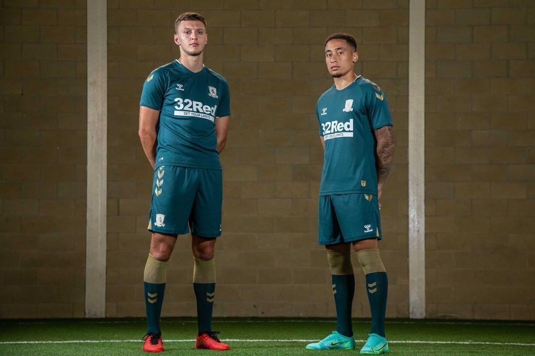 Camisas do Middlesbrough 2021-2022 Hummel Away