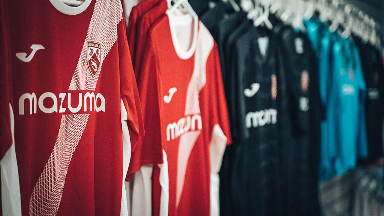 Camisas do Morecambe FC 2021-2022 Joma a
