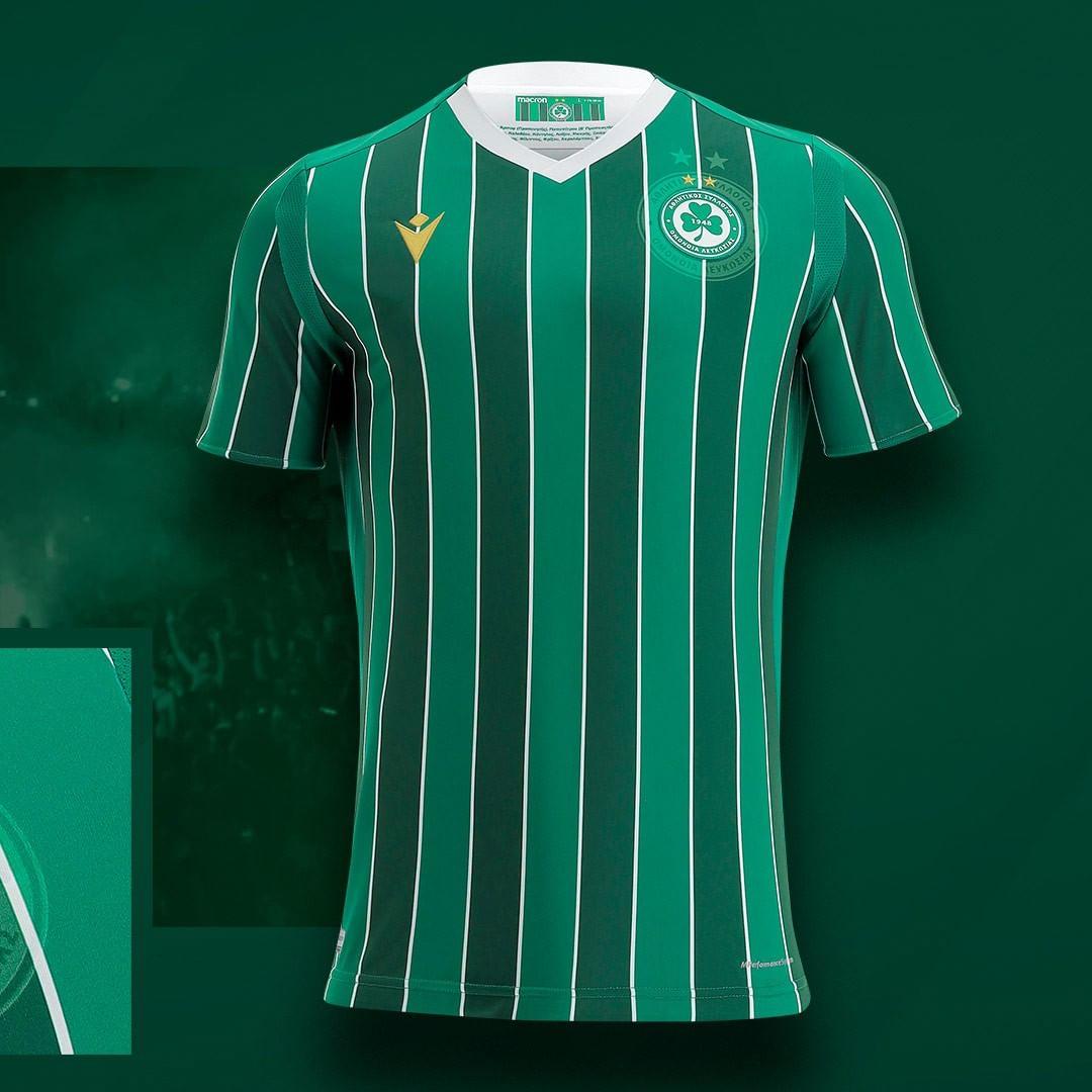 Camisas do Omonia Nicosia 2021-2022 Macron