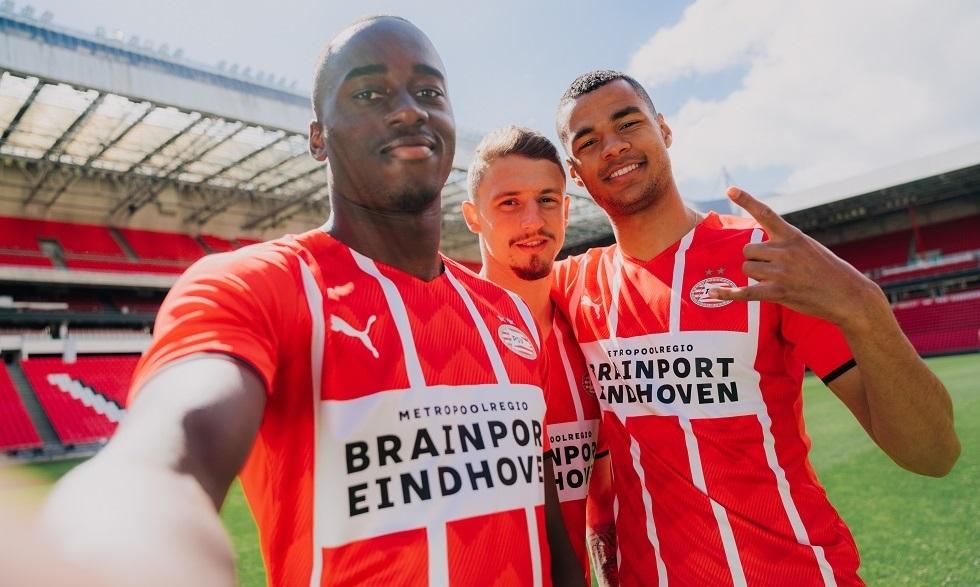 Camisas do PSV 2021-2022 PUMA