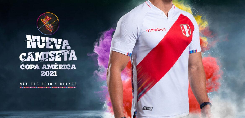 Camisas do Peru 2021-2022 Marathon a