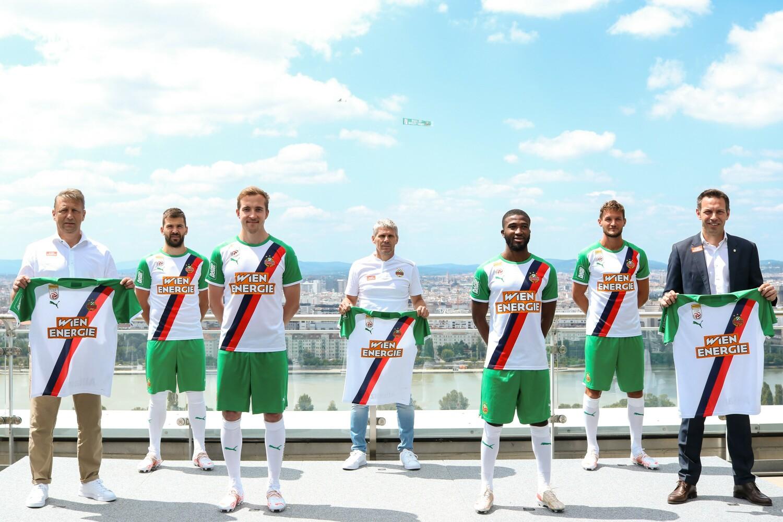Camisas do SK Rapid Viena 2021-2022 PUMA