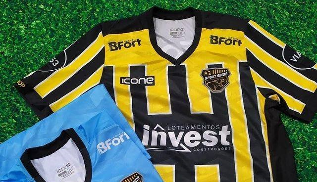 Camisas do Sport Sinop 2021 Ícone Sports
