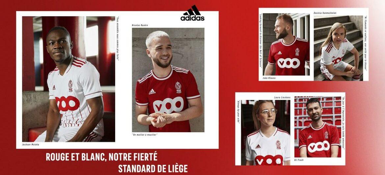 Camisas do Standard Liège 2021-2022 Adidas a
