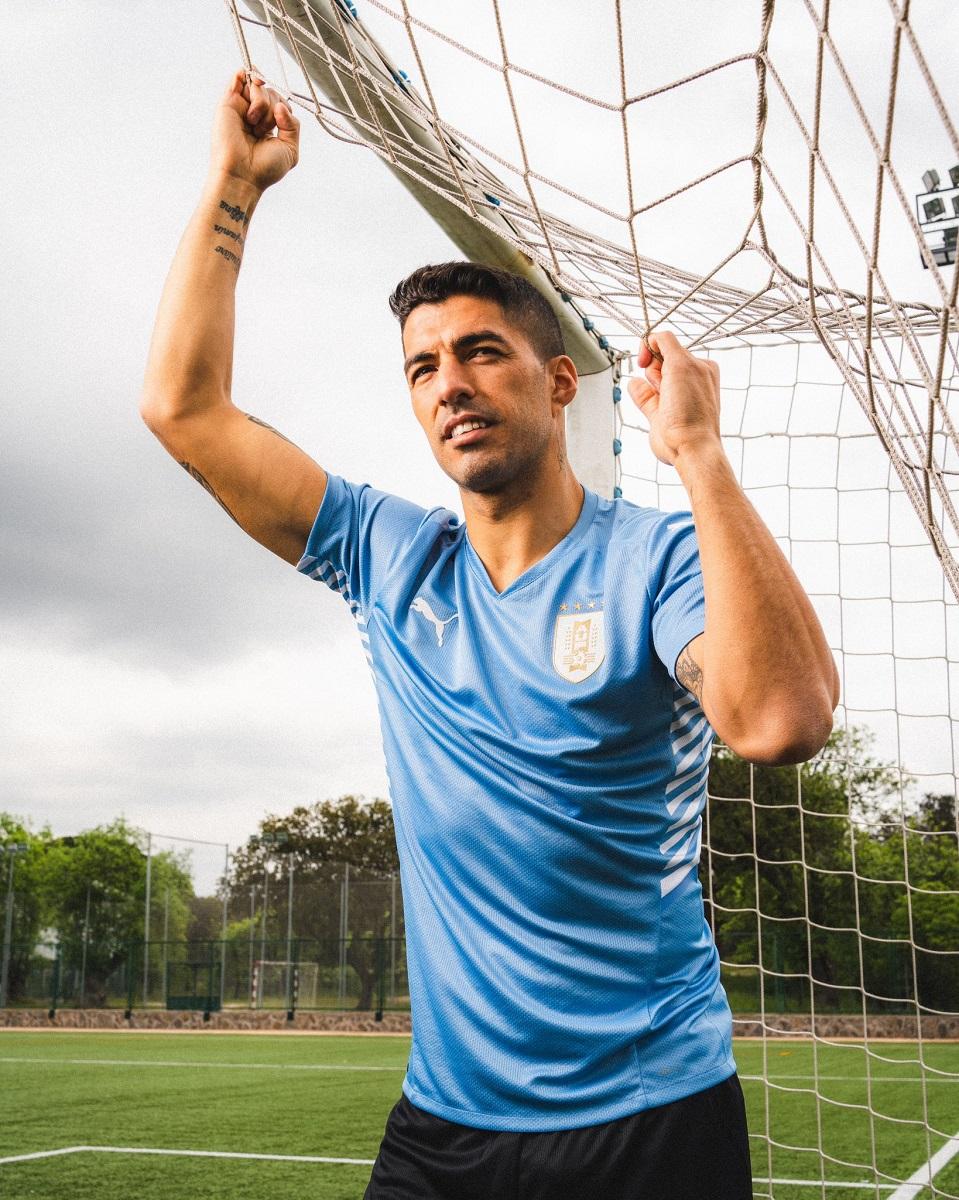 Camisas do Uruguai 2021-2022 PUMA