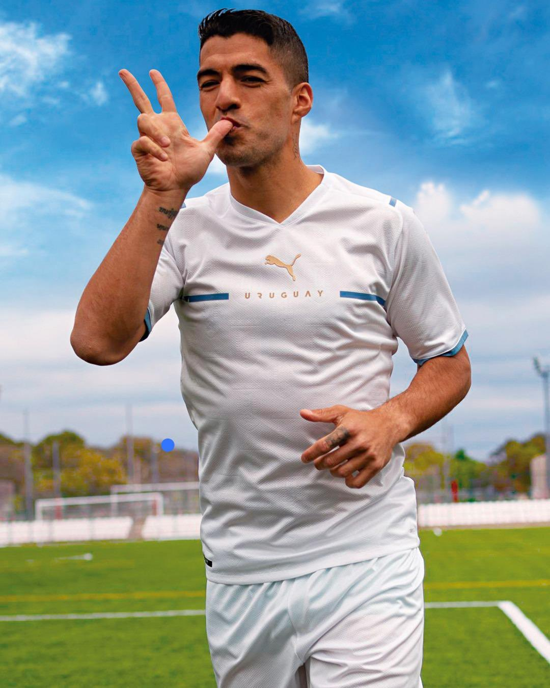 Camisas do Uruguai 2021-2022 PUMA Away