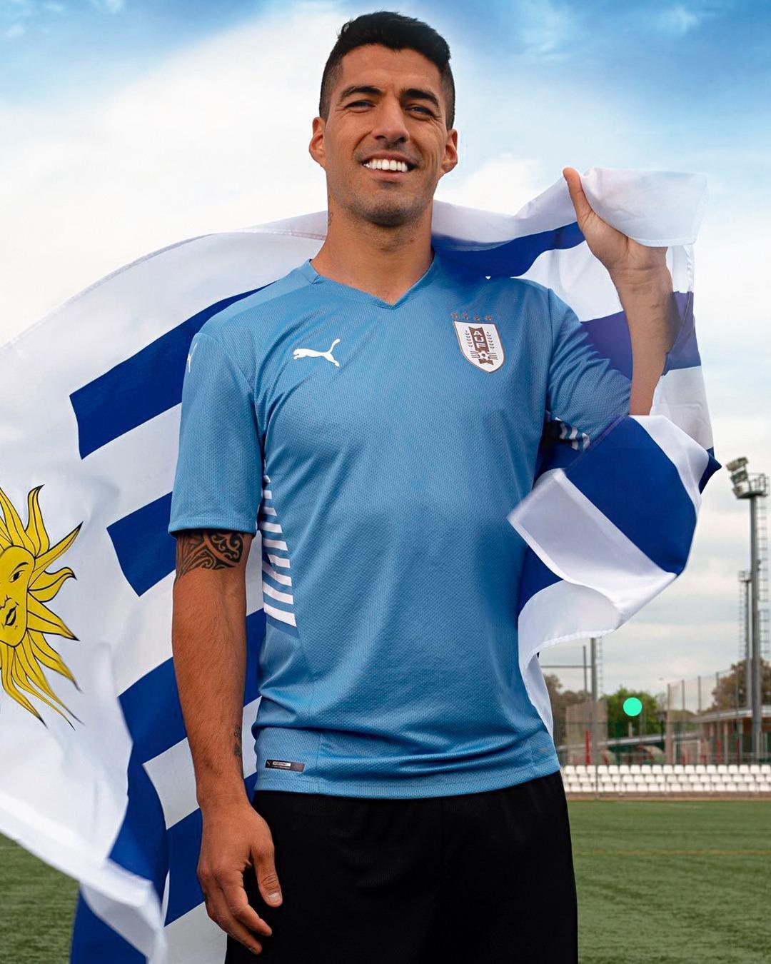 Camisas do Uruguai 2021-2022 PUMA Home