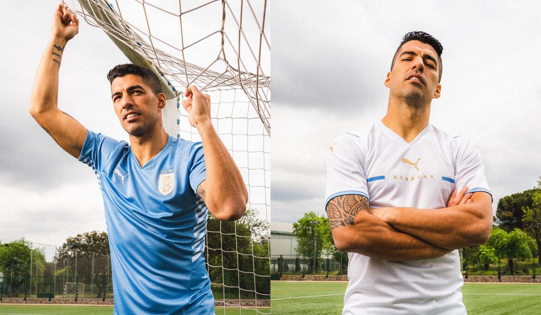 Camisas do Uruguai 2021-2022 PUMA a