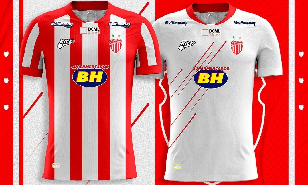 Camisas do Villa Nova AC 2021 Kickball