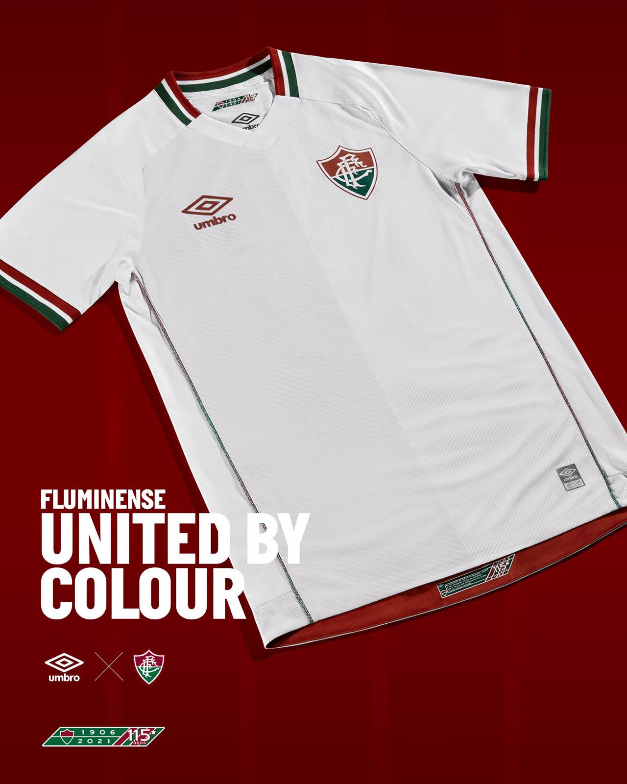 Camisa reserva do Fluminense 2021-2022 Umbro