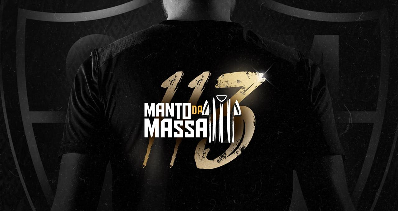 Manto da Massa 2 Atlético Mineiro