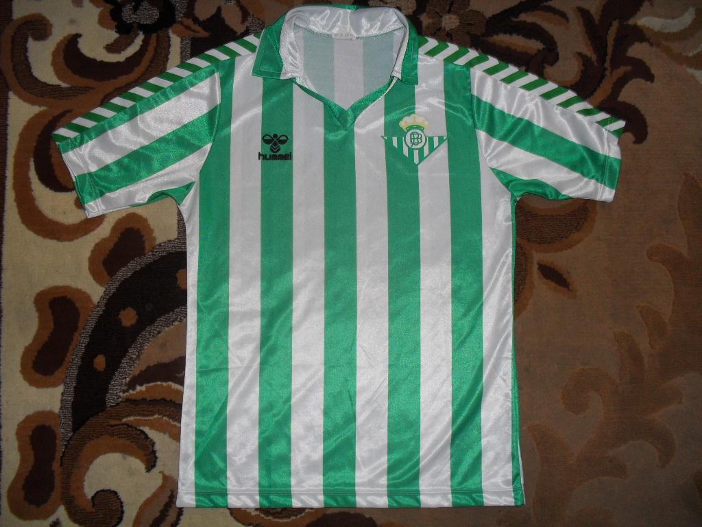 Real Betis 1988-1990 OldFootballShirts